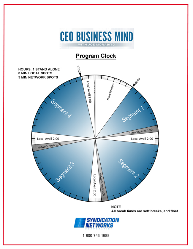 CEO Business Mind show clock